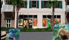 Art in the Windows Around Town