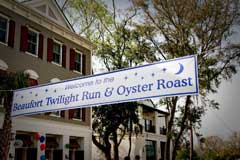 Twilight Run & Oyster Roast: What a Combo!