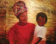 helping-haiti-woman-child