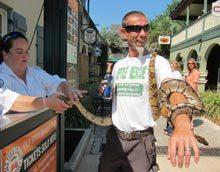 st-augustine-snake-man