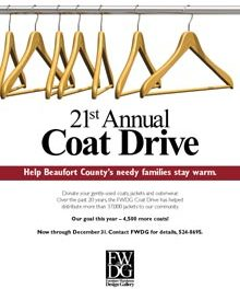 FWDG's 21st Annual Coat Drive Continues