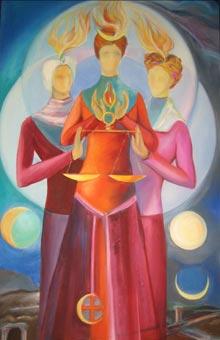 World Goddesses at Bluffton Branch Library