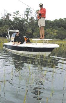 Lt. Dan Goes Fishing