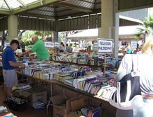 Book Sale in the Park