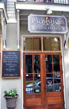 Burger Beat at Maggie's Pub