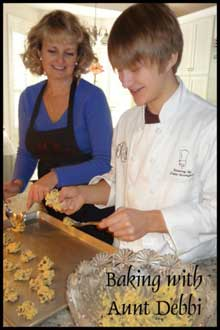 Baking with Aunt Debbi