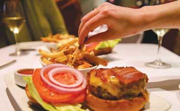 burger-GrabbingFries