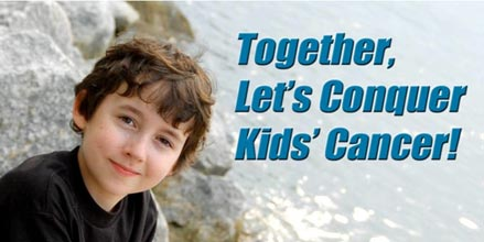 Heading the Fight Against Kids' Cancer