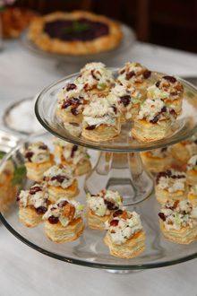 everyday-pecan chicken salad puffs