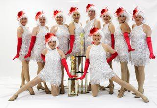 Tap Dancing Divas Open for Lucy