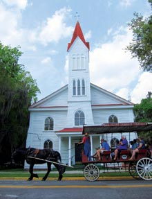 stay-Carriage-church
