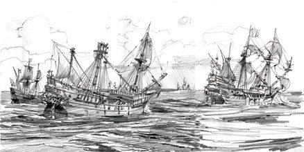 Santa-Elena-3-Ships