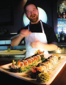 Justin Dreams of Sushi