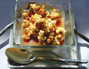 Popcorn-Pannacotta