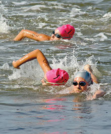 Beaufort River Swim Turns Ten