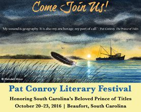 Pat Conroy Literary Festival In the Works