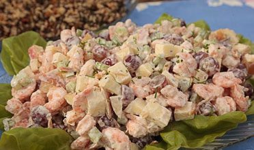 Seafood Supper with a Southern Twist