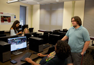 USCB Students Develop New Penn Center Website