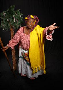 Aunt Pearlie Sue at the U.N.