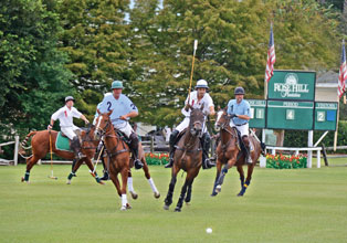 Polo for Charity at Rose Hill