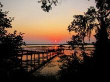 fall-Sunset-Over-Dock