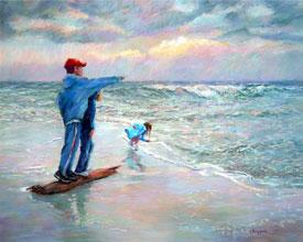 Linda Sheppard's Water Paintings
