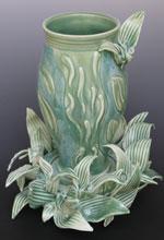 craft-Unwanted-Garden-Visitors-porcelain-11-x-9-x-9-450.00-Earline-Allen-Bluffton-SC