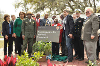 National & Local Leaders Celebrate Reconstruction Era National Monument