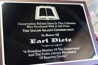 Earl Dietz Environmental Library Collection