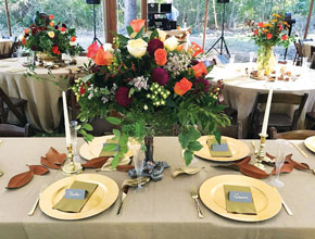 Debbi Covington Catered Table Setting