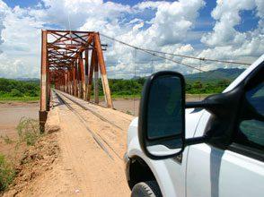 journey crossing train tressel