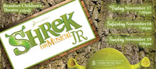 Auditions for 'Shrek the Musical, Jr.'