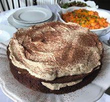 celebrate mocha brownie