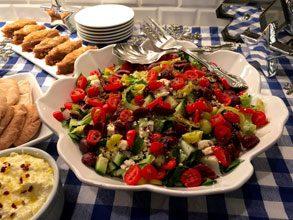 celebrate zorba greek salad