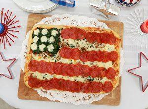 celebrate grand old flag pizza