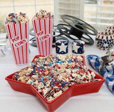 celebrate patriotic popcorn