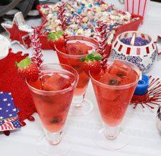 celebrate sparkling spritzers