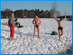 garden Snow Swimmers