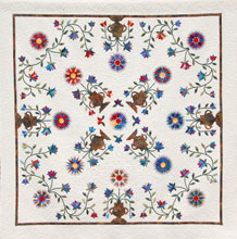 quilt Floral Splendor Raffle Quilt 2018