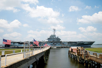 Charleston Patriots Point Yorktown