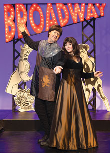 Forbidden Broadway Mike McFee Elaine Lake