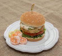 celebrate shrimp burgers