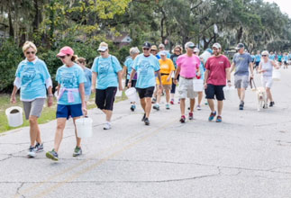 Beaufort's Walking for Water