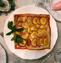 celebrate south carolina peach tart