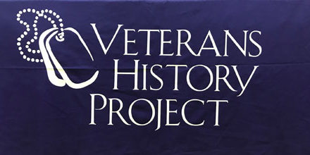 TCL Hosting Veterans History Project