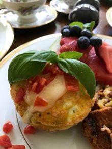 celebrate bacon veggie egg puffs