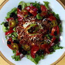 celebrate beef taco salad