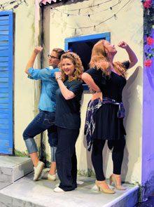 Mamma Mia rehearsal 18