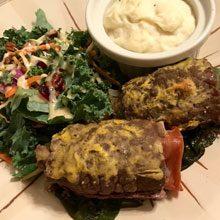 celebrate beef spinach prosciutto