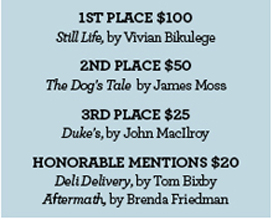 Short Story Contest Winners